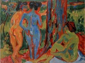Drei akte im Walde, 1908, Stedelijk Museum A'dam
